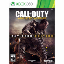 Call Of Duty Advance Wafare Xbox 360 Ntsc Edição Day Zero