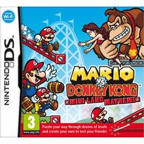 Jogo Mario Vs Donkey Kong Mini-land Mayhem Nintendo Ds A5988