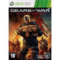 Gears Of War Judgement - Xbox 360 Original Rcr Games