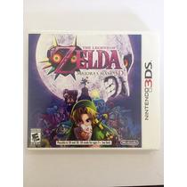 The Legend Of Zelda Majoras Mask 3ds, Novo, Sem Uso Completo