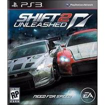 Need For Speed Shift 2 Mídia Física Ps3 Novo Lacrado