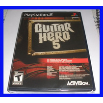 Guitar Hero Ps2 Hero 5 Playstation 2 Original Novo Rock Band