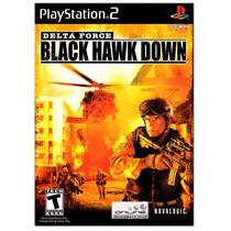 Delta Force Black Hawk Down. ! Jogos Ps2