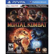 Mortal Kombat: Komplete Edition - Ps Vita - Pronta Entrega!