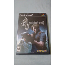 Resident Evil 4 Playstation 2 Ps2 Americano Completo