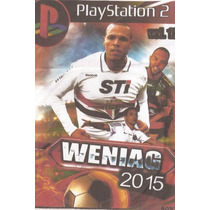 Jogo Patch Ps2 Winnng Eleven 2015 Para Playstation2