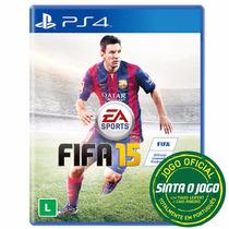 Jogo Fifa 15 Ps4 Em Portugues Blu-ray Lacrado Frete Gratis