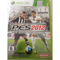 Jogo Xbox 360- Pes 2012 - Original