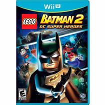 Lego Batman 2 Dc Super Heroes Wii U Mídia Físca + Brinde