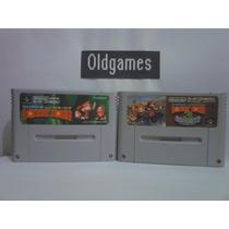 Donkey Kong 1 E 3 - Super Famicom, Originais.