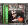 Novo Jogo Tiro Ação Resident Evil 1 Ps1 Original Cx Mnl 100%