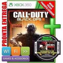 Call Of Duty Black Ops 3 Xbox 360 Original Lacrado