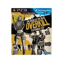 Jogo The House Of The Dead: Overkill Extended Cut - Ps3 Sega