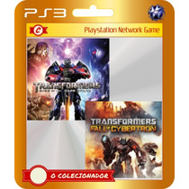 Transformers Fall Of Cybertron + Rise Of The Dark Spark