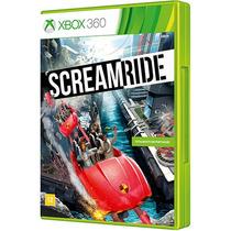 Screamride Jogo Infantil Português Xbox 360 Montanha Russa