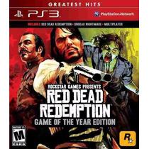 Red Dead Redemption Ps3 Frete Grátis Mídia Física Lacrado