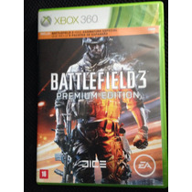 Battlefield 3 Premium Edition Xbox 360 Semi - Novo Promoção