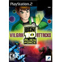Jogos Ps2 - Ben 10 - Alien Force - Vilgax Attacks