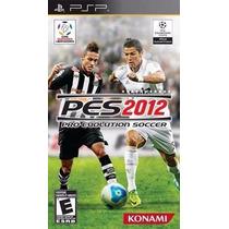 Pro Evolution Soccer 2012 Pes 12 - Psp - Original E Lacrado!