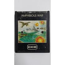 Jogo Atari 2600 Amphibious War Cartucho Fita Dactar