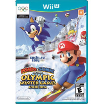 Mario And Sonic At The Sochi 2014 Olympic - Jogo Wii U