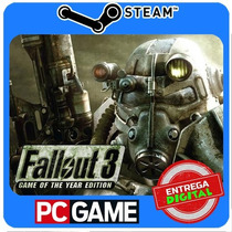 Fallout 3 - Game Of The Year Edition Steam Cd-key Global