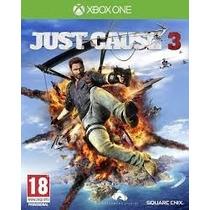 Jogo Novo Lançamento 2015 Just Cause 3 Xbox One Mídia Física