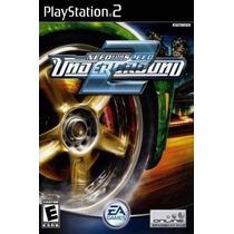 Jogo Ps2 - Need For Speed - Underground 2