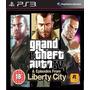 Grand Theft Auto Iv - Gta 4 + Liberty City Ps3 Código Psn