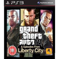 Grand Theft Auto Iv - Gta 4 + Liberty City Ps3 Código Psn