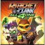 Ratchet & Clank/ All 4 Onejogos Ps3 Codigo Psn