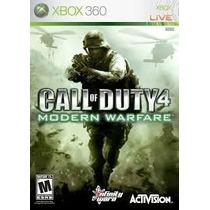 Call Of Duty 4 Modern Warfare Xbox 360 Original