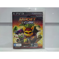 Ratchet E Clank All 4 One Ps3 Usado