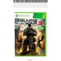 Gears Of War 3 Xbox 360 Mídia Digital Com Legenda Em Port.