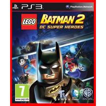 Lego Batman 2 Dc Heroes Ps3 Psn Portugues Br Promocao