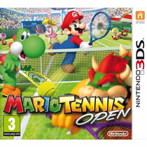 Mario Tennis Open 3ds Original Lacrado Versão Usa