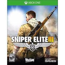 Jogo Sniper Elite Iii 3 Mídia Física Xbox One Lacrado Novo