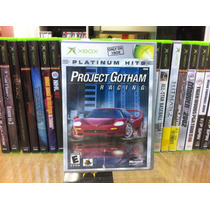 Jogo Xbox Original Pgr Project Gothan Racing Platinum Ntsc