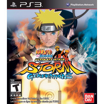 Jogo Ps3 Naruto Shippuden Ultimate Ninja Storm Generations