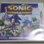 Frete Grátis Sonic Generations Jogo Nintendo 3ds