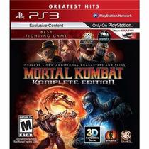 Jogo Para Ps3 Mortal Kombat Kompleteedition Original Lacrado