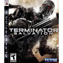 Jogo Ps3 Terminator Salvation Original Lacrado