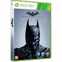 Batman Arkhan Origins Xbox 360 Midia Fisica Original Lacrado