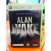Jogo Alan Wake Xbox 360, Jogo Original Ed Brasil