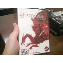 Jogo Dragon Age Origins Original Para Pc Na Caixa.