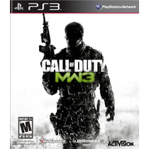 Call Of Duty Modern Warfare 3 - Ps3 - Novo Lacrado