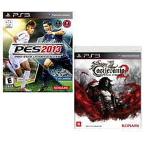 Pes 13 + Castlevania Lords Of Shadow 2 Ps3 Novos Rcr Games