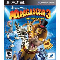 Madagascar 3 Jogo Ps3 Original Lacrado