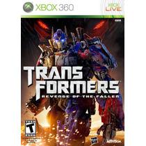 Jogo Transformers Revenge Of The Fallen Original Xbox 360