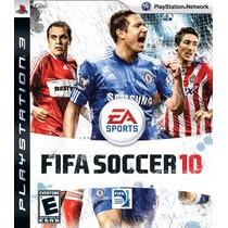 Fifa 10 - Jogo Ps3 - Em Disco - Playstation 3